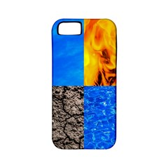 The Fifth Inside Funny Pattern Apple Iphone 5 Classic Hardshell Case (pc+silicone)