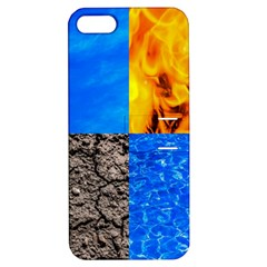 The Fifth Inside Funny Pattern Apple Iphone 5 Hardshell Case With Stand