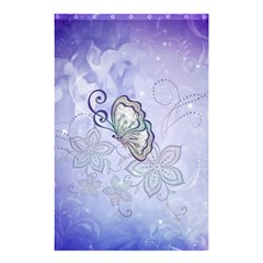 Wonderful Butterlies With Flowers Shower Curtain 48  X 72  (small)