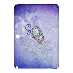 Wonderful Butterlies With Flowers Samsung Galaxy Tab Pro 10 1 Hardshell Case