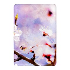 Pink Sakura Purple Background Samsung Galaxy Tab Pro 12 2 Hardshell Case
