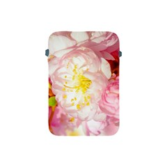 Pink Flowering Almond Flowers Apple Ipad Mini Protective Soft Cases by FunnyCow