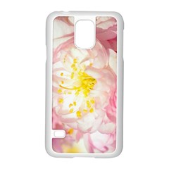 Pink Flowering Almond Flowers Samsung Galaxy S5 Case (white) by FunnyCow