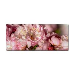 Beautiful Flowering Almond Hand Towel by FunnyCow