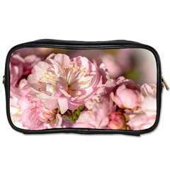 Beautiful Flowering Almond Toiletries Bags 2 Side