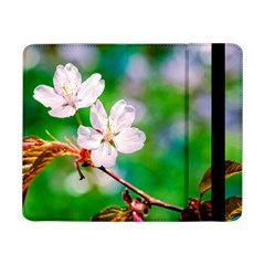 Sakura Flowers On Green Samsung Galaxy Tab Pro 8 4  Flip Case by FunnyCow