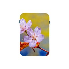 Sakura Flowers On Yellow Apple Ipad Mini Protective Soft Cases by FunnyCow