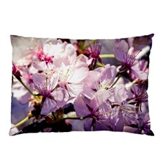 Sakura In The Shade Pillow Case (two Sides)