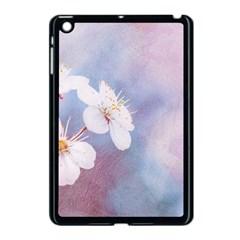 Pink Mist Of Sakura Apple Ipad Mini Case (black)