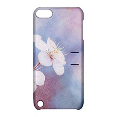 Pink Mist Of Sakura Apple Ipod Touch 5 Hardshell Case With Stand by FunnyCow