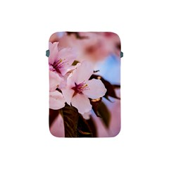 Three Sakura Flowers Apple Ipad Mini Protective Soft Cases by FunnyCow