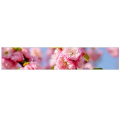 Flowering Almond Flowersg Large Flano Scarf