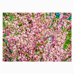 Almond Tree In Bloom Large Glasses Cloth (2 Side)