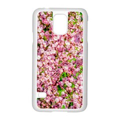 Almond Tree In Bloom Samsung Galaxy S5 Case (white) by FunnyCow
