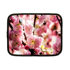 Blooming Almond At Sunset Netbook Case (small)  by FunnyCow
