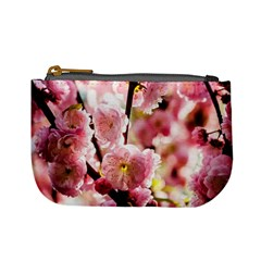 Blooming Almond At Sunset Mini Coin Purses