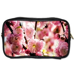 Blooming Almond At Sunset Toiletries Bags