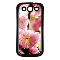 Blooming Almond At Sunset Samsung Galaxy S3 Back Case (black)
