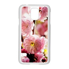Blooming Almond At Sunset Samsung Galaxy S5 Case (white) by FunnyCow