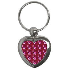 Punk Baby Red Key Chains (heart)