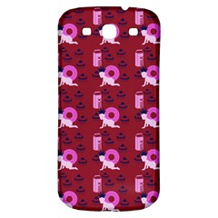Punk Baby Red Samsung Galaxy S3 S Iii Classic Hardshell Back Case
