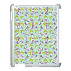 Blue Star Yellow Hats Apple Ipad 3/4 Case (white)
