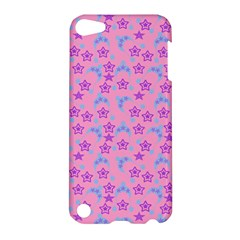 Pink Star Blue Hats Apple Ipod Touch 5 Hardshell Case