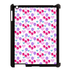 Pastel Cherries Apple Ipad 3/4 Case (black)
