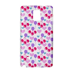 Pastel Cherries Samsung Galaxy Note 4 Hardshell Case