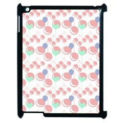 Bubblegum Cherry White Apple Ipad 2 Case (black)