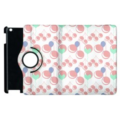 Bubblegum Cherry White Apple Ipad 2 Flip 360 Case