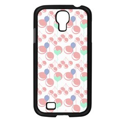 Bubblegum Cherry White Samsung Galaxy S4 I9500/ I9505 Case (black)