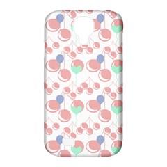 Bubblegum Cherry White Samsung Galaxy S4 Classic Hardshell Case (pc+silicone)