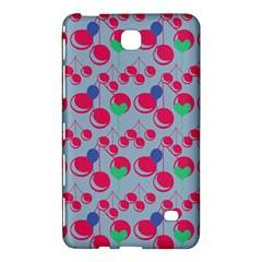 Bubblegum Cherry Blue Samsung Galaxy Tab 4 (8 ) Hardshell Case