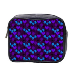 Night Cherries Mini Toiletries Bag 2 Side