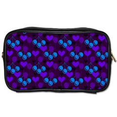 Night Cherries Toiletries Bags 2 Side