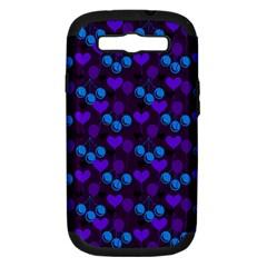 Night Cherries Samsung Galaxy S Iii Hardshell Case (pc+silicone)