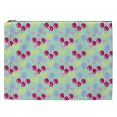 Birthday Cherries Cosmetic Bag (xxl)