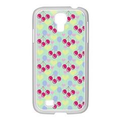 Birthday Cherries Samsung Galaxy S4 I9500/ I9505 Case (white) by snowwhitegirl