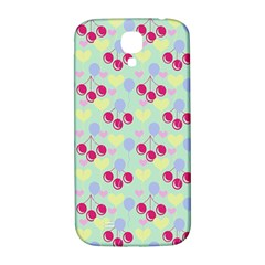 Birthday Cherries Samsung Galaxy S4 I9500/i9505  Hardshell Back Case