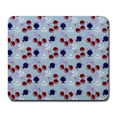 Sky Cherry Large Mousepads