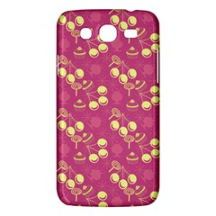 Yellow Pink Cherries Samsung Galaxy Mega 5 8 I9152 Hardshell Case