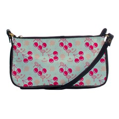 Bubblegum Cherry Shoulder Clutch Bags