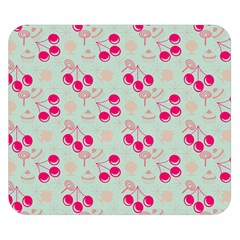 Bubblegum Cherry Double Sided Flano Blanket (small)