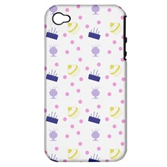 Cakes And Sundaes Apple Iphone 4/4s Hardshell Case (pc+silicone)