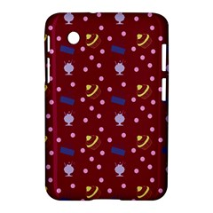 Cakes And Sundaes Red Samsung Galaxy Tab 2 (7 ) P3100 Hardshell Case