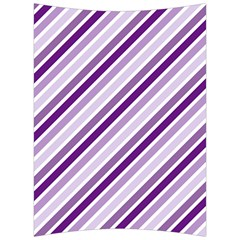 Violet Stripes Back Support Cushion