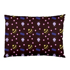 Cakes And Sundaes Chocolate Pillow Case (two Sides)