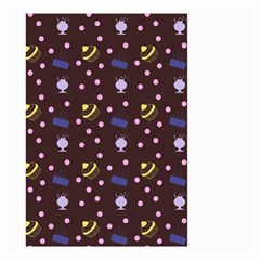 Cakes And Sundaes Chocolate Small Garden Flag (two Sides)