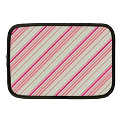 Candy Diagonal Lines Netbook Case (medium)